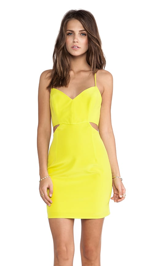 Lux V Neck Cut Out Dress