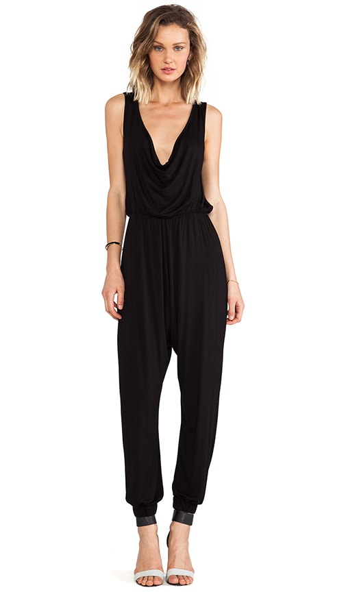 Cowl Neck Reversible Jumpsuit