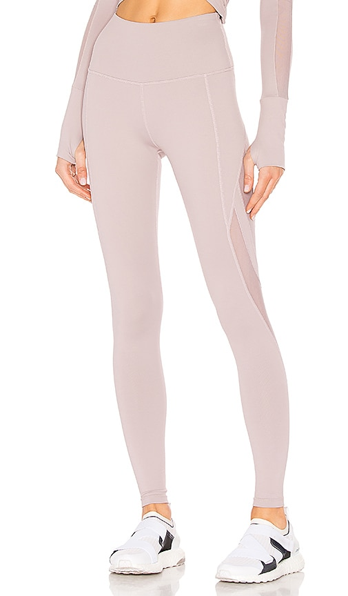 Demir Leggings In Mauve by Nylora