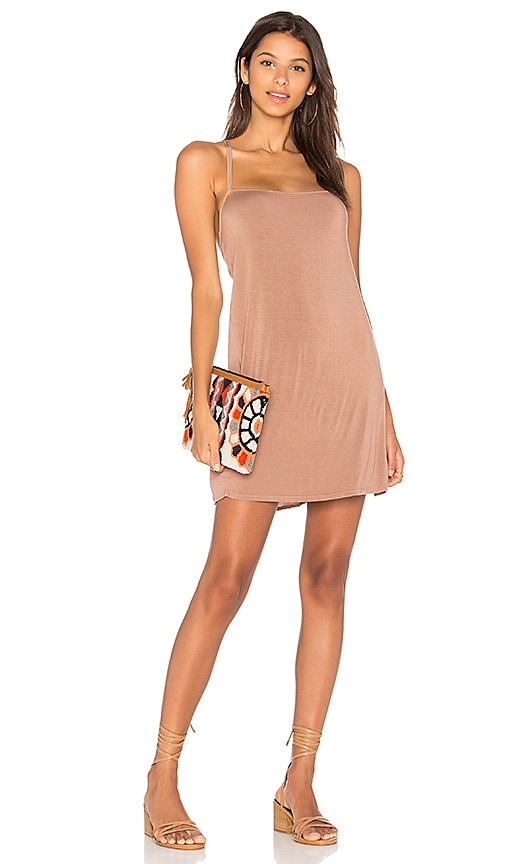 NYTT Tank Dress in Blush