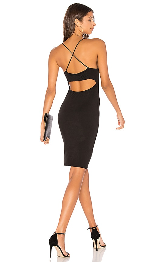NYTT Back Criss Cross Dress in Black