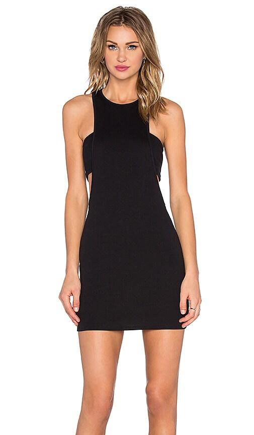 NYTT Zoe Bandeau Dress in Black