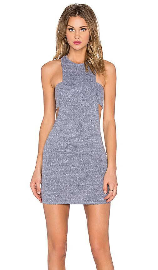 NYTT Zoe Bandeau Dress in Gray