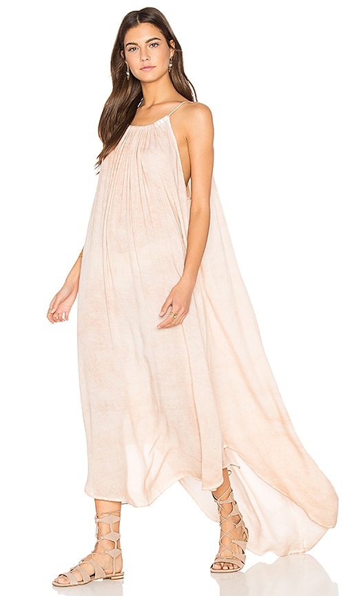 NYTT Hi Low Dress in Beige