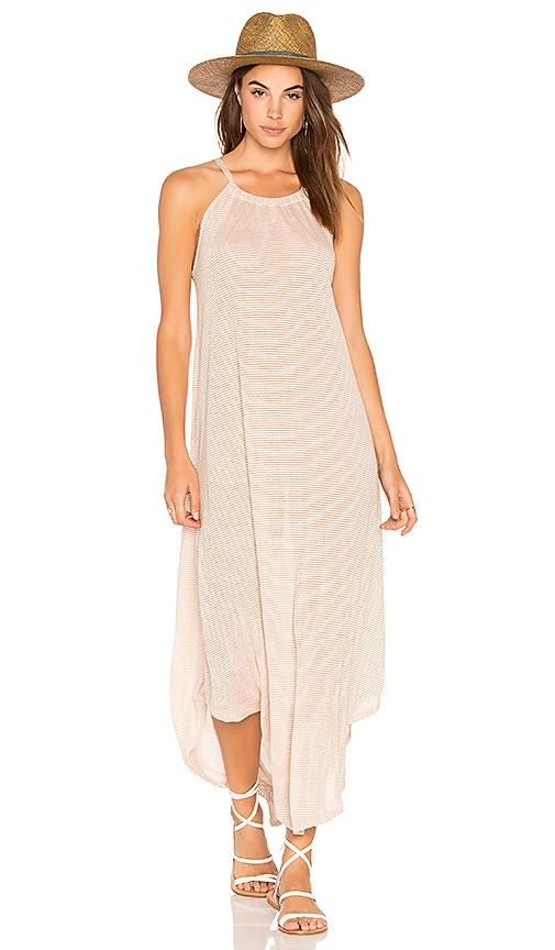 NYTT Stripe Dress in Tan