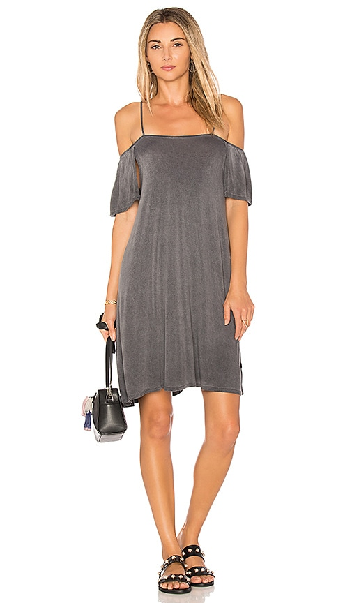 NYTT Cold Shoulder Dress in Black