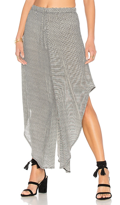 NYTT Slit Pant in Black & White