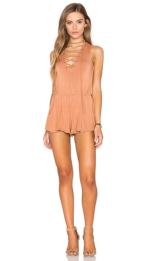 NYTT Nuri Romper in Tan