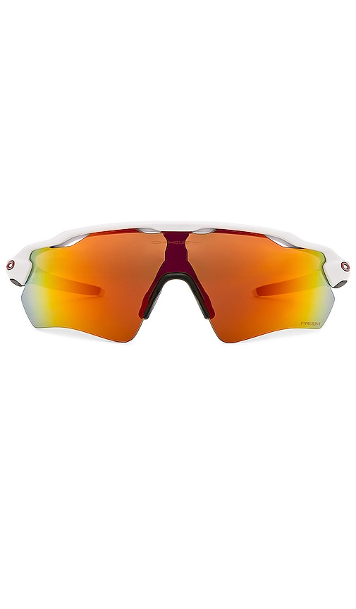 17eb15c2d1 Oakley Radar EV Path in Polished White   Prizm Ruby