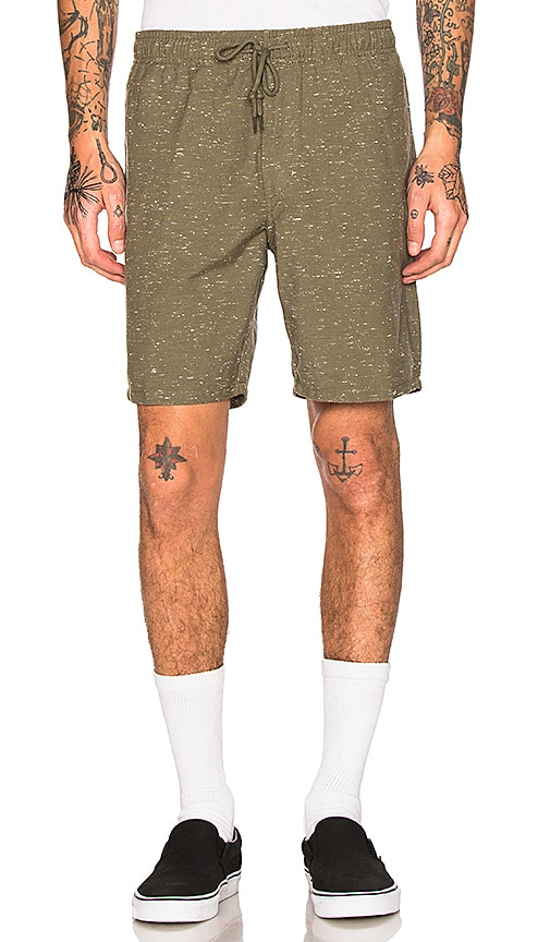 Obey Palmer Shorts in Army