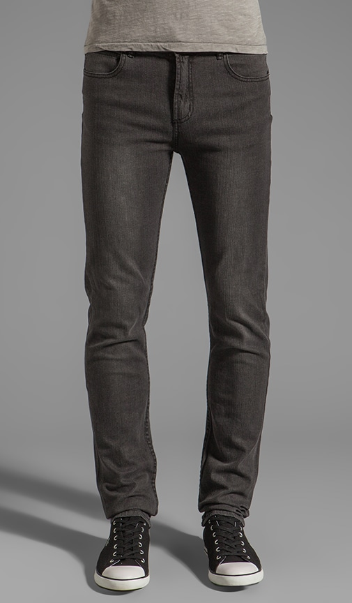 Juvee Modern Denim In Sulfur Grey