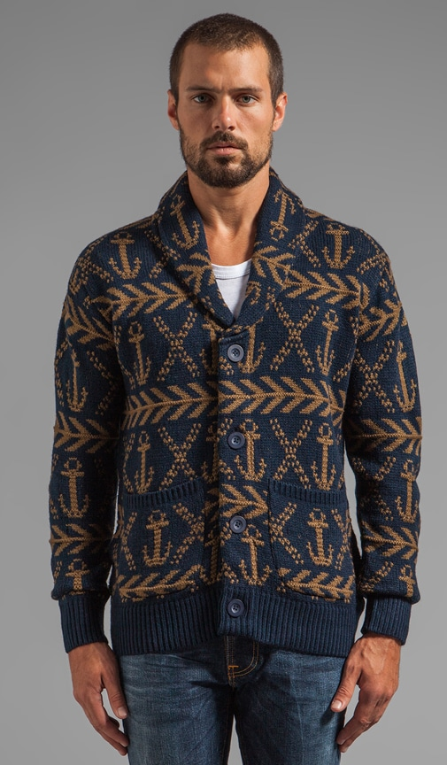Anchors Heavyweight Cardigan
