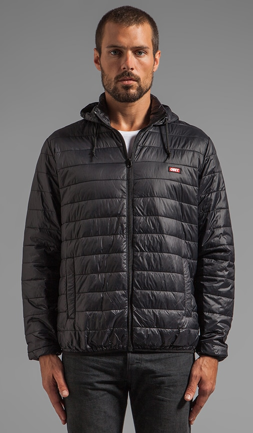 Blackout Lightweight Puffer Jacket