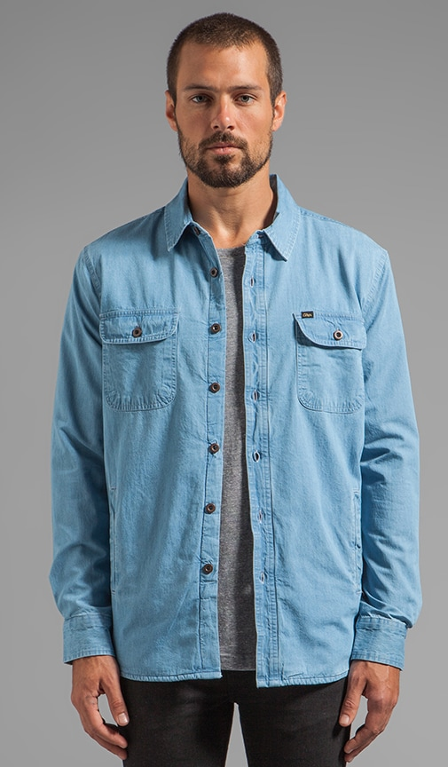 Coastal Denim Thermal Lined Lightweight Jacket
