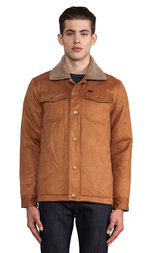Billy Jacket w/ Faux Shearling Trim