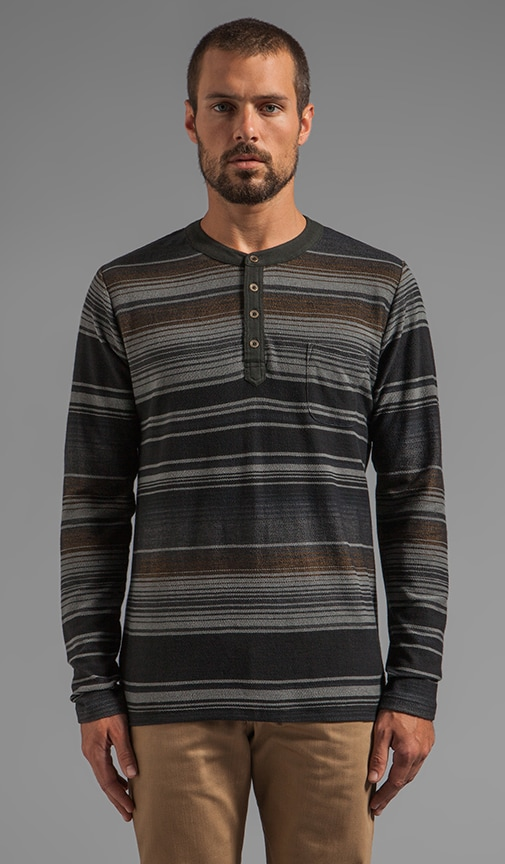 Tulum L/S Striped Henley