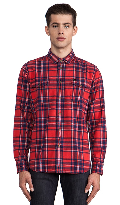 Drifter Flannel Button Down