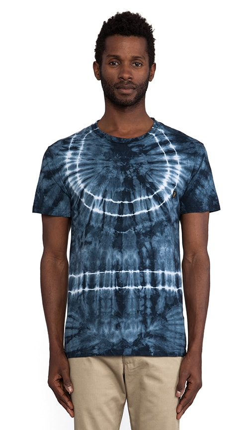 Indigo Burst Pocket Tee