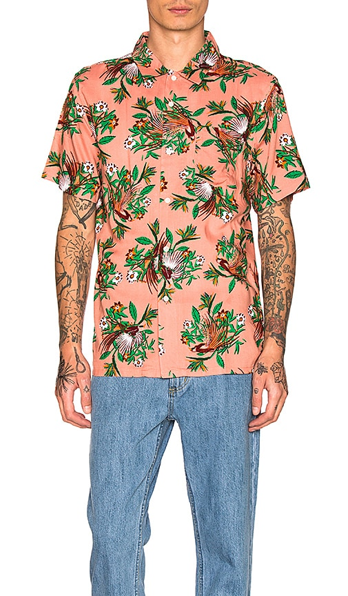 Obey Paradise S/S Shirt in Rose
