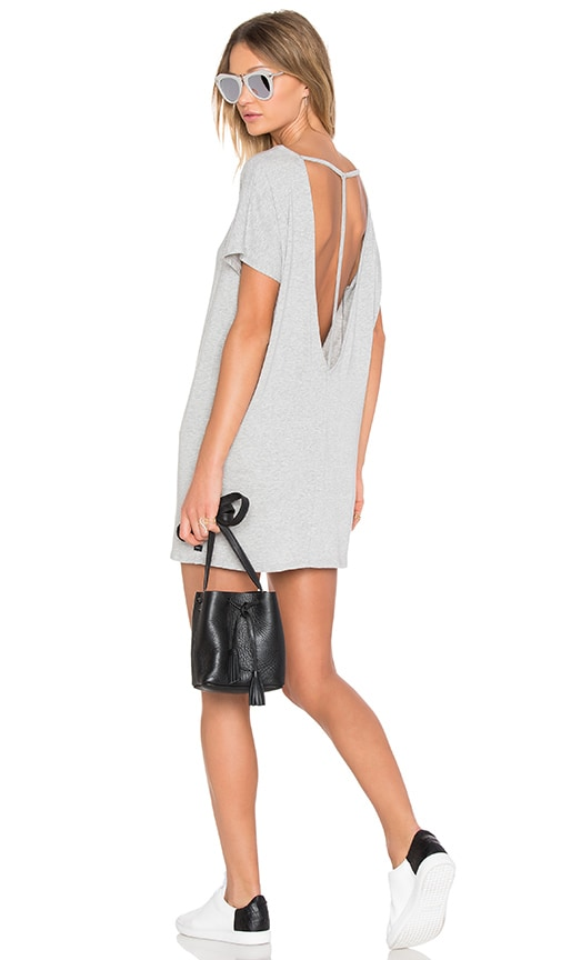 Obey T-Back Tunic in Gray