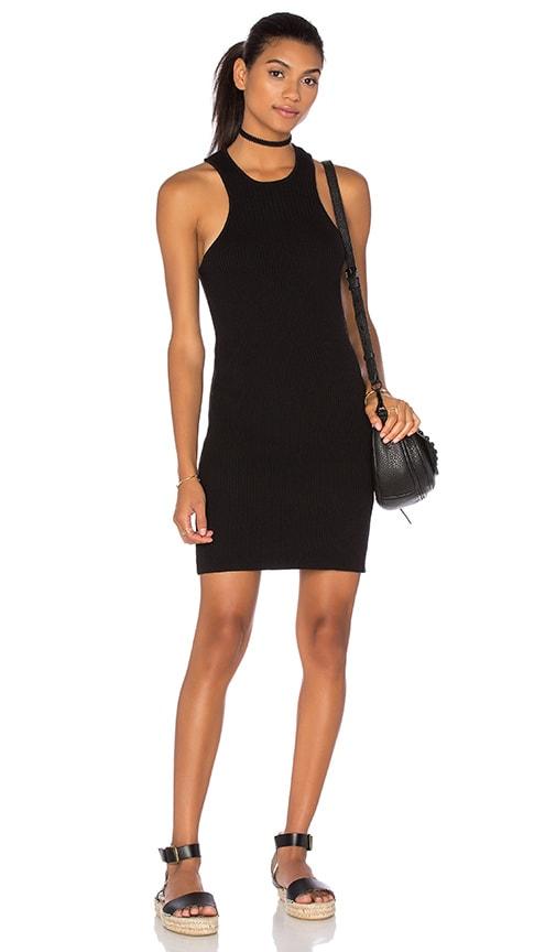 Obey Seymour Dress in Black