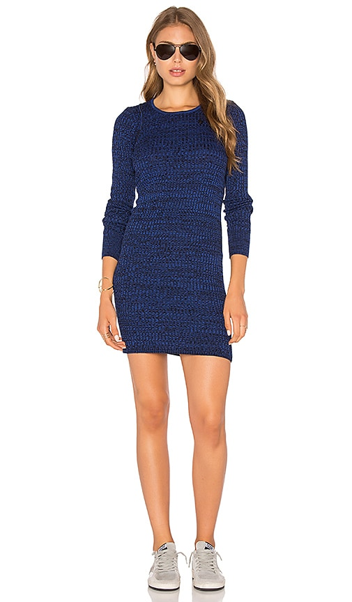 Obey Hanna Dress in Royal