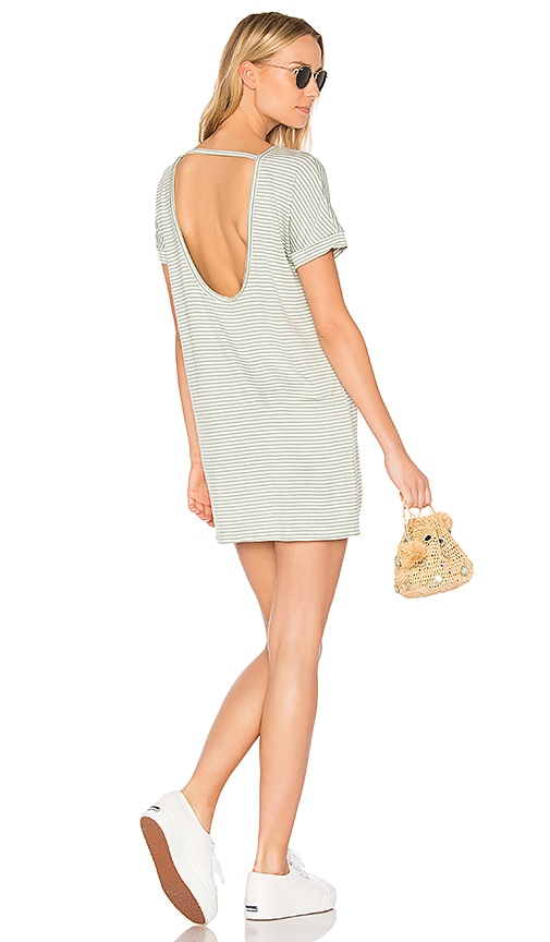 Obey Right Above Dress in Gray