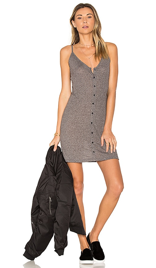 Obey Barbados Dress in Gray