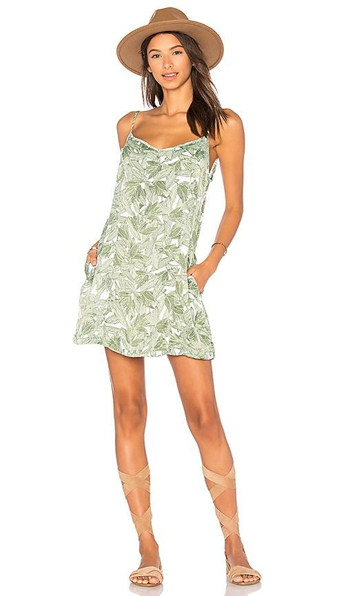 Obey Tropique Dress in Green