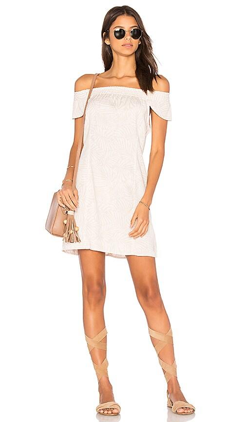 Obey Skylar Dress in Beige