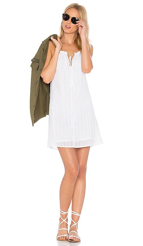 Obey Isle Dress in White