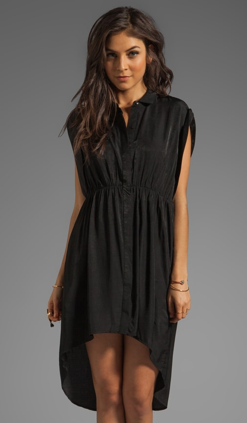 Black Rose High Low Dress