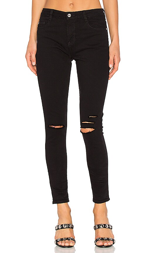 Obey Slasher Skinny II Jeans in Black