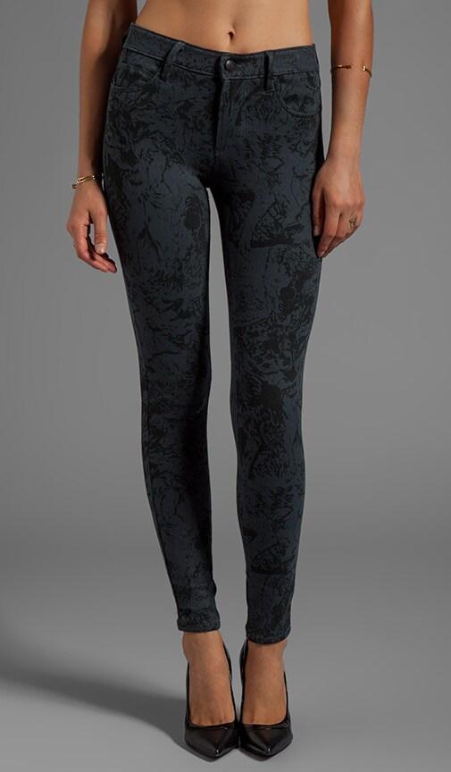 Lean & Mean Printed Skinny Jeans