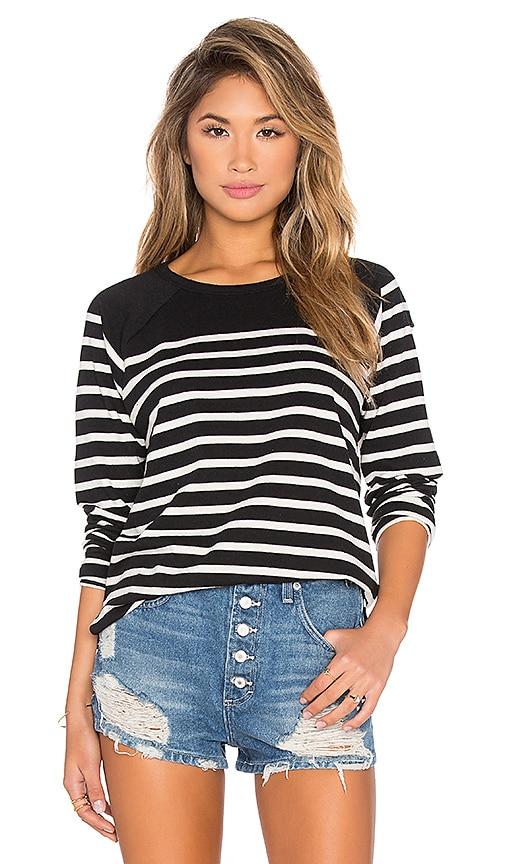 Obey Mitchell Sweatshirt in Black Multi