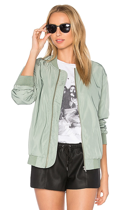 Obey Mako Bomber Jacket in Sage