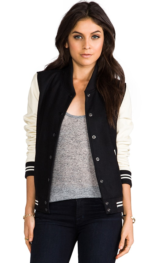 Drop Out Varsity Style Jacket