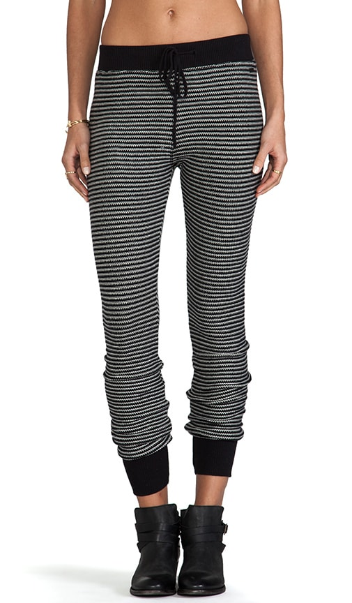Distant Shore Striped Sweater Leggings