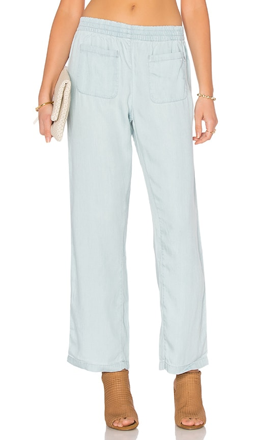 Obey Concrete Beach Pant in Baby Blue