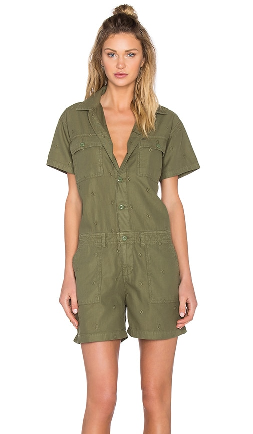 Obey Raleigh Romper in Green