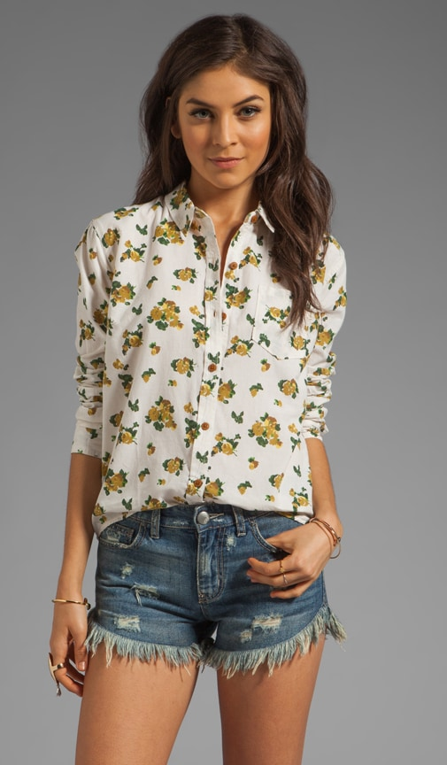 Wilted Floral Shirt