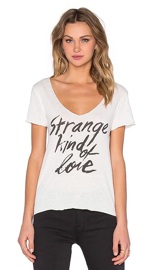 Obey Strange Kind of Love Dylan Tee in Natural