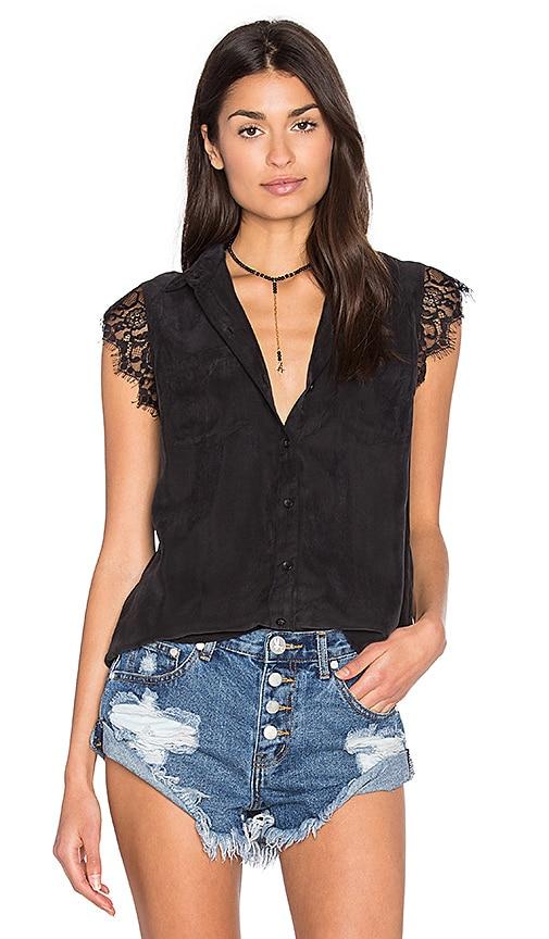 Obey Heart Noir Shirt in Black
