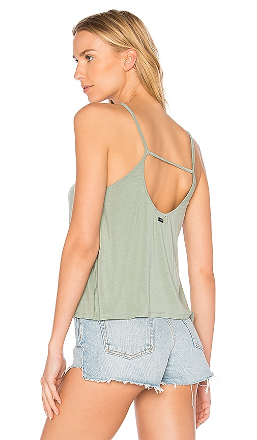 Obey Front Street Tank in Sage