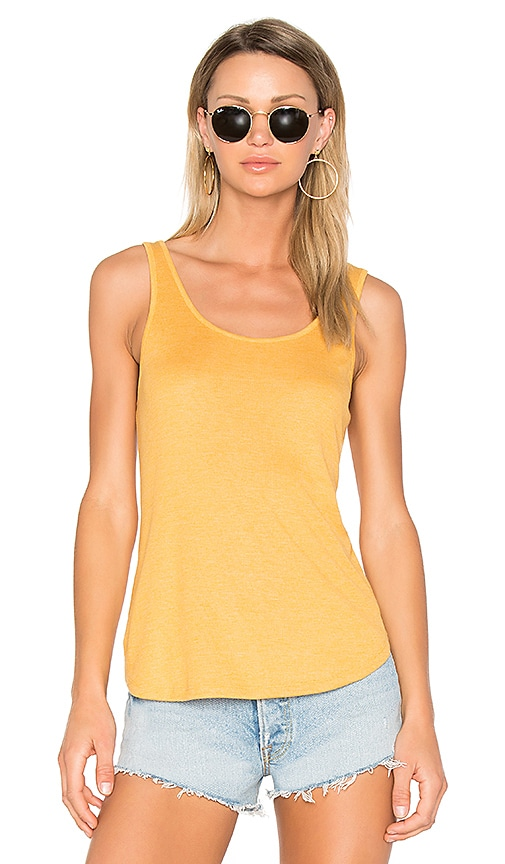 Obey Dazed Tank in Yellow