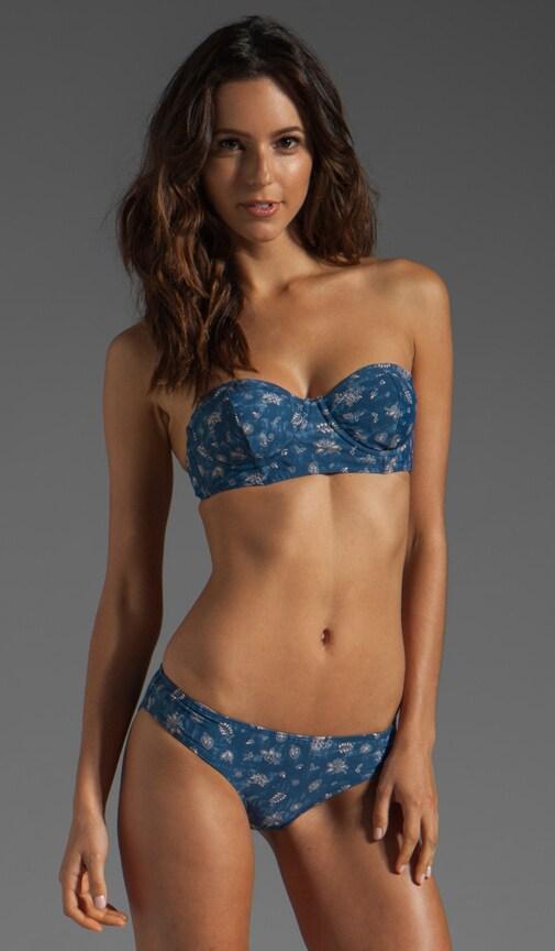Batik Ditsy Floral Bikini Top
