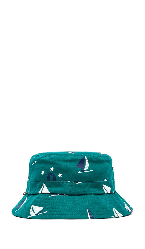 31549f86defcd6 Odd Future Earl Sinking Boat Bucket Hat in Green