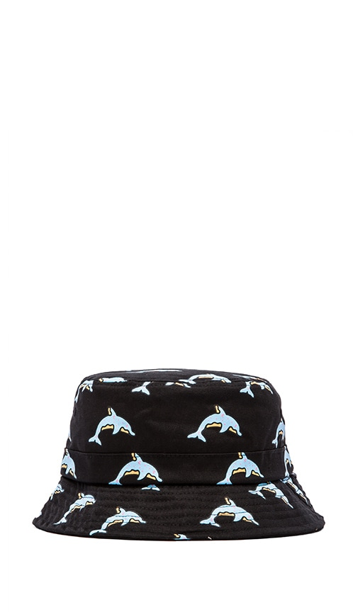 Dolphin Donut All Over Bucket Hat