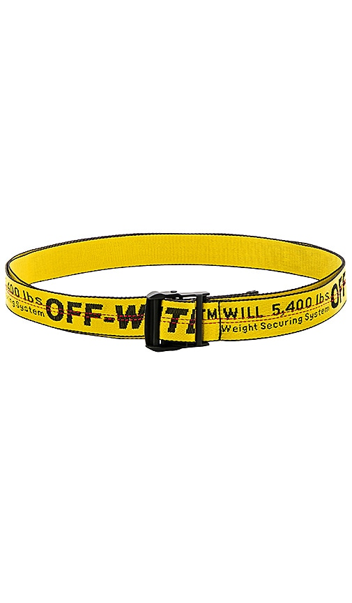 OFF-WHITE Industrial Belt In Yellow | REVOLVE