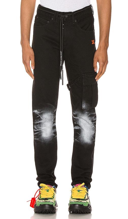Slim Asymmetric Jeans